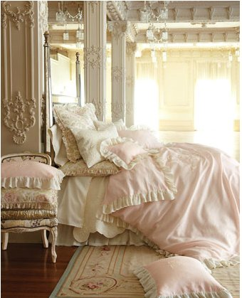 Fab Decor: Pink Bedrooms and Boudoirs - Stylishly Stella
