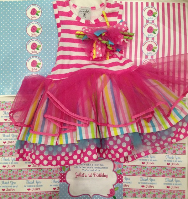 Mudpie birthday dress
