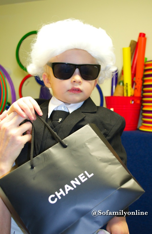 karl lagerfeld costume