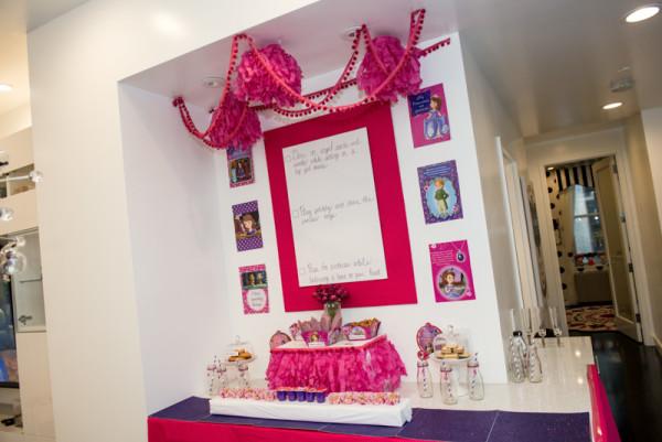 dessert bar pink