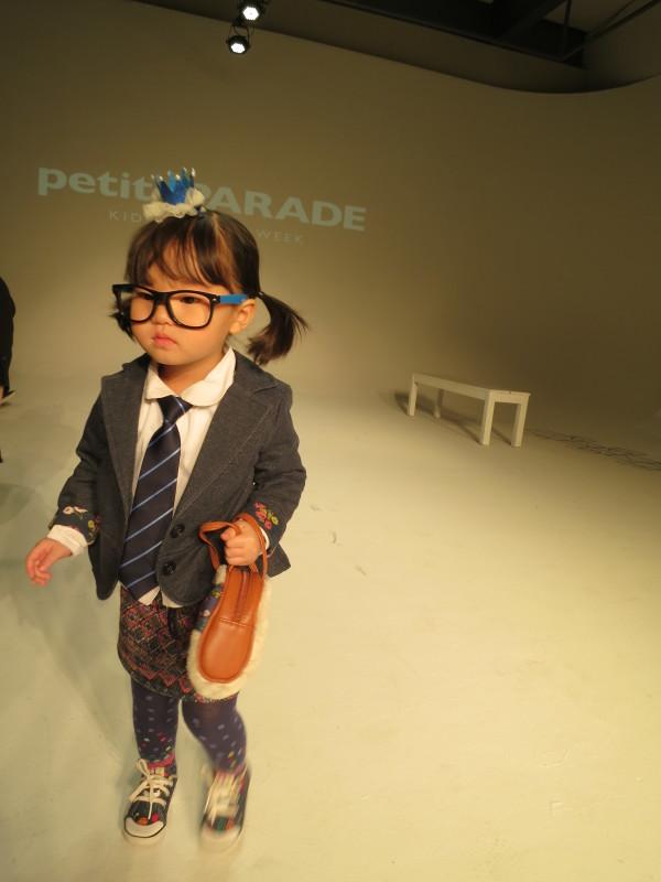 kids at fashion week