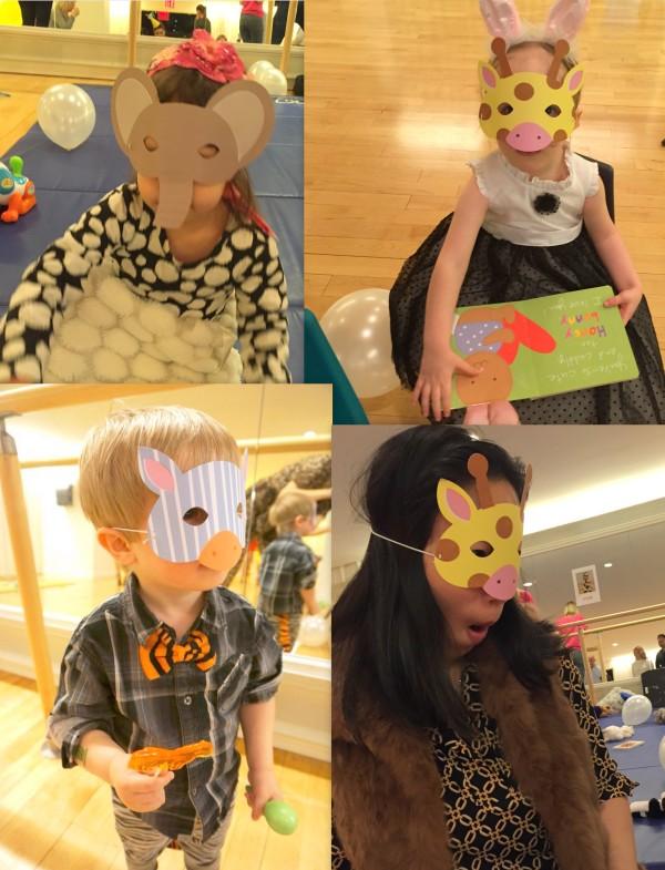 animal parade masks