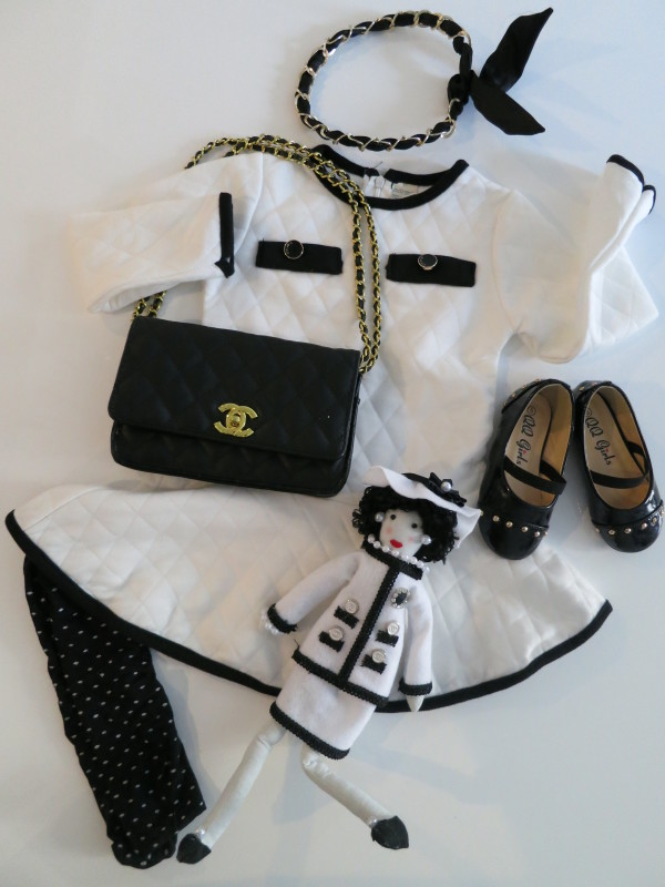 Fab Kids: Chanel-Inspired Baby Fashion