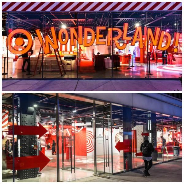 target wonderland nyc, target popup, holiday popup, nyc popup, new york popup