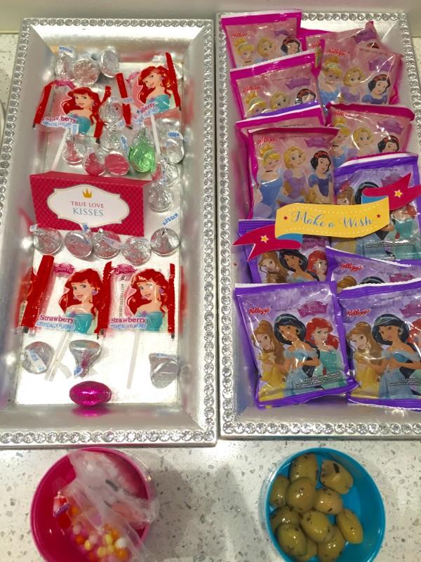 princess party, toddler princess party, disney princess party, olaf snack