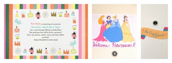 how to host a princess party, princess party for toddlers, disneyside party