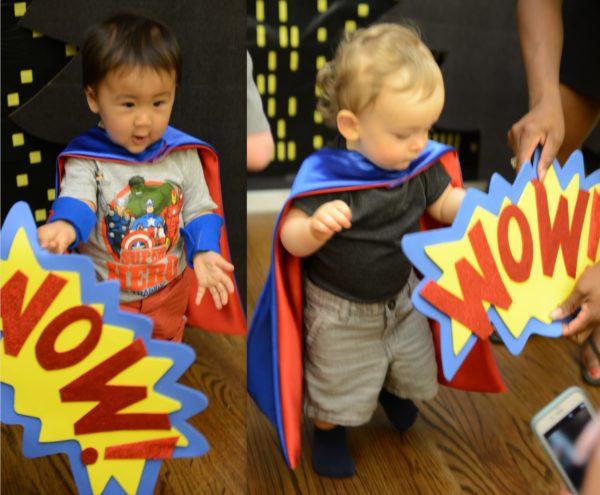 superhero party ideas, superhero capes
