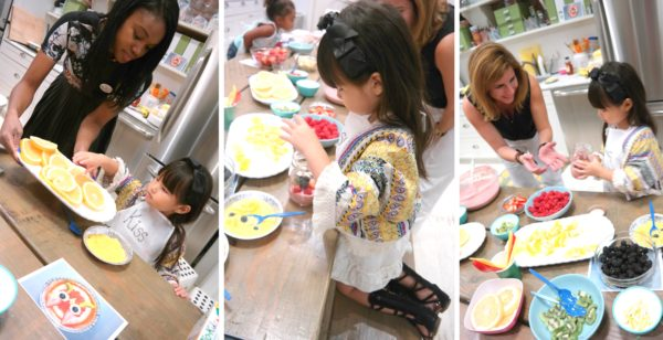 fruits for kids, cooking with kids, baking with kids