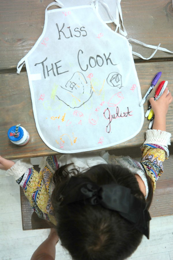 kids aprons, kids cooking, kids craft, bio-kidz
