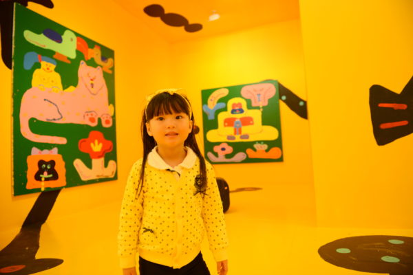 misaki kawai, cave life, nyc art gallery, the hole, art for kids
