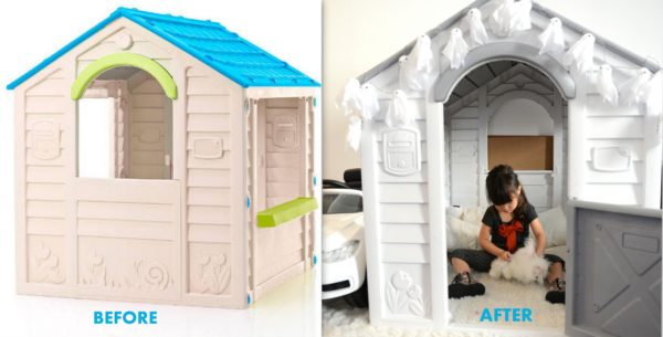 keter kids, how to makeover a kids playhouse