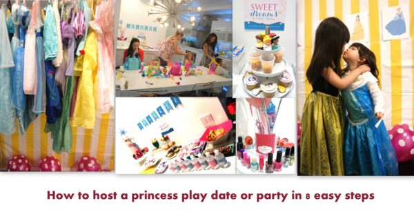 how to plan a princess party, princess party ideas, princess play date, princess party ideas for kids