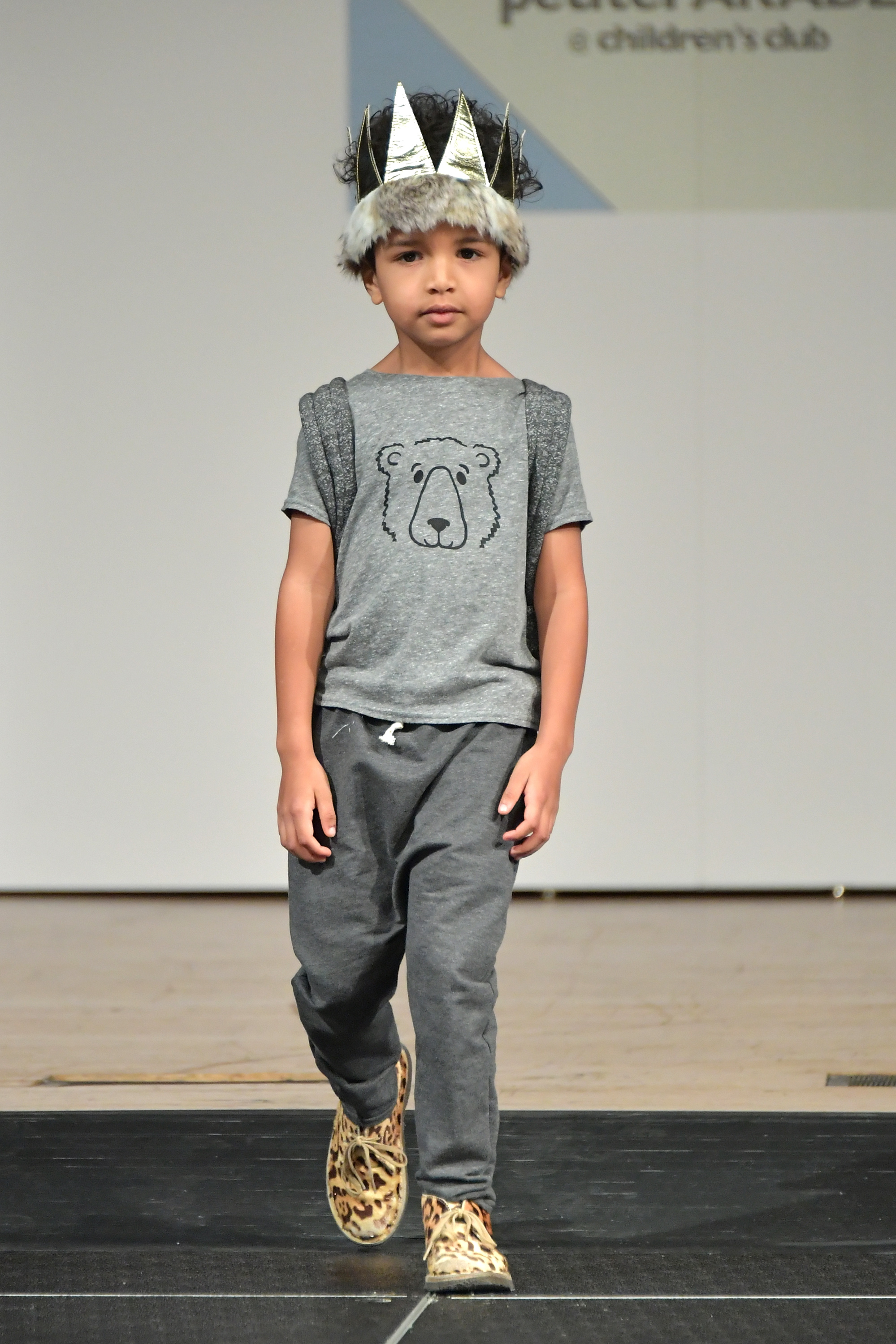 kids fashion, kids runway show,