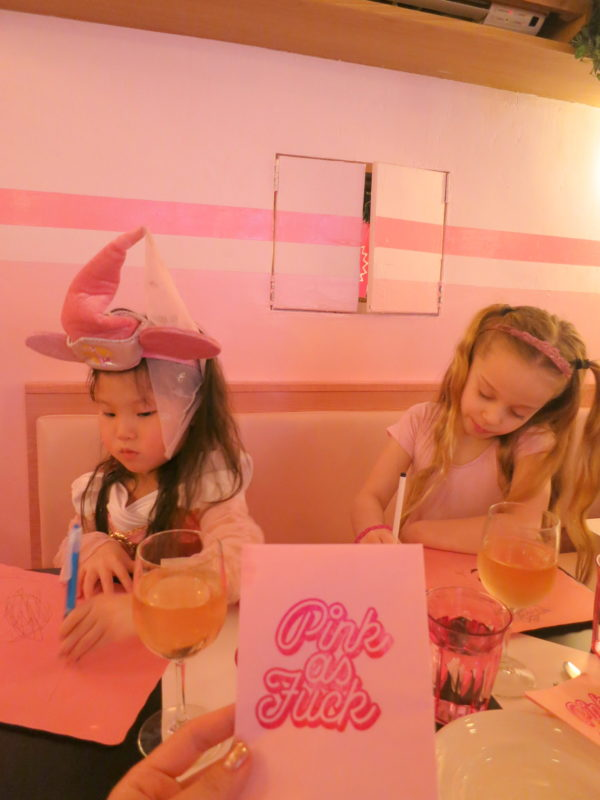 pink party ideas, pink princess, pietro nolita, kids pink party