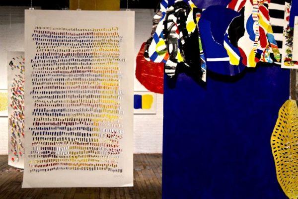 herve tullet, brooklyn art exhibit, nyc art, modern art