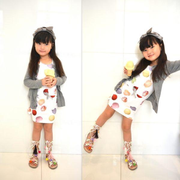 ice cream, minifashionista, styling kids, kids stylist, toddler fashion, girls fashion, zulily shoes
