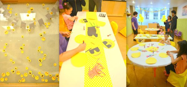 emoji kids party, emoji themed party, how to throw an emoji party, emoji crafts, emoji diy