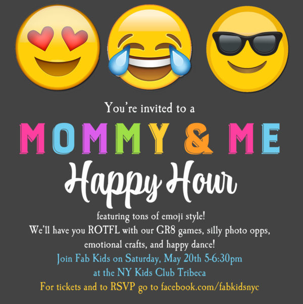 emoji invitation, kids emoji party, how to plan an emoji party