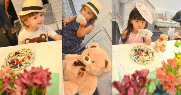teddy bear kids party, teddy bear tea, teddy bear tea party ideas