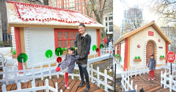 gingerbread house, gingerbread house nyc, life sized gingerbread house, Bucket list to check off, nyc instagramable, nyc popup