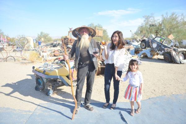 californian road trip, hippies, coachella, burning man, slab city resident, slab city art