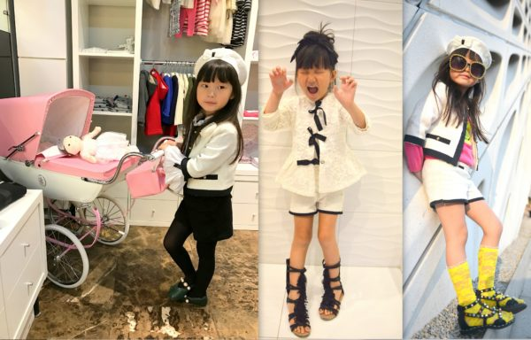 chanel looks, chanel fashion, chanel for kids, kids chanel, baby chanel
