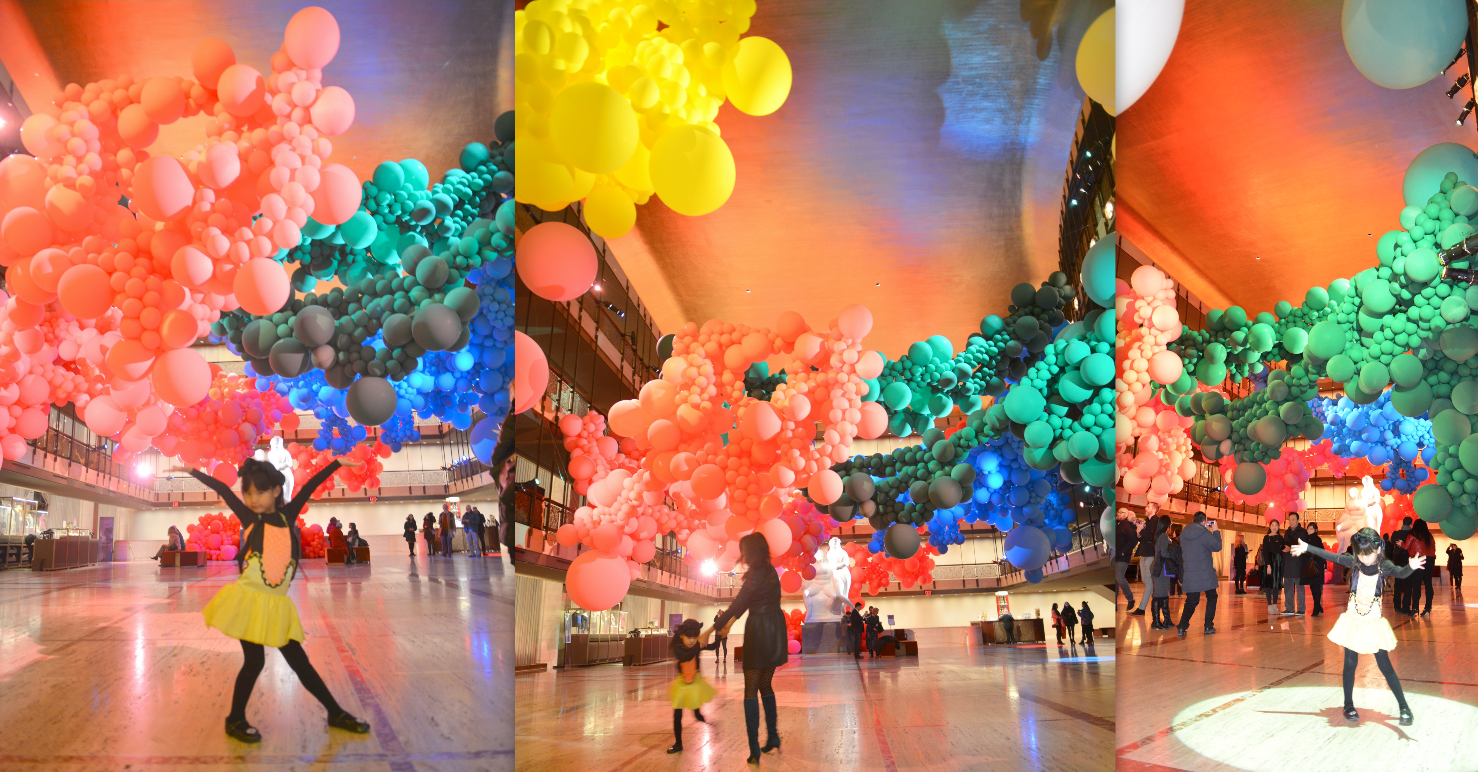 geronimo balloon, geronimo, geronimo ny, geronimo at lincoln center, lincoln center balloons, balloon art, nycb art series