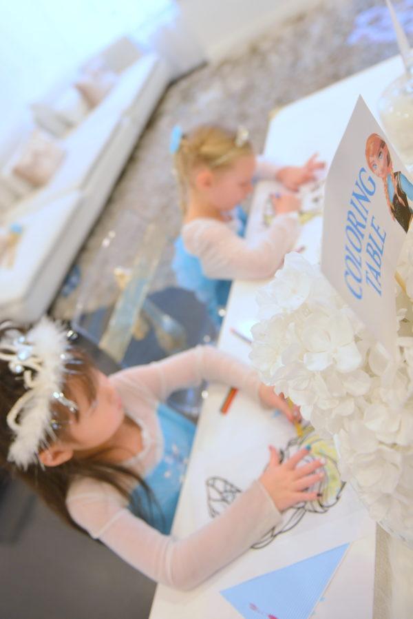 frozen coloring sheet, frozen party ideas, frozen party, frozen party theme