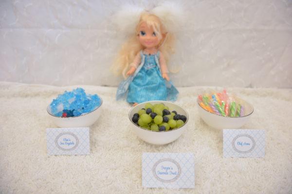 frozen party desserts, frozen party ideas, frozen kids party theme, how to throw a frozen party