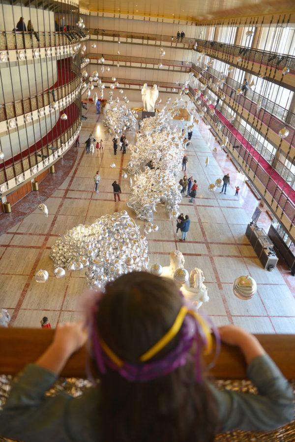 geronimo, geronimo balloons, lincoln center balloons, david koch theater, nyc minifashionista, nyc fashion kids, fab gab, balloon art, nycb art series