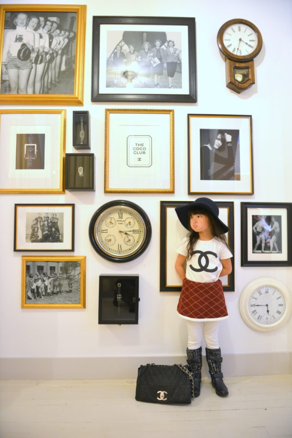 chanel baby, chanel kids, minifashionista, chanel pop up, chanel store