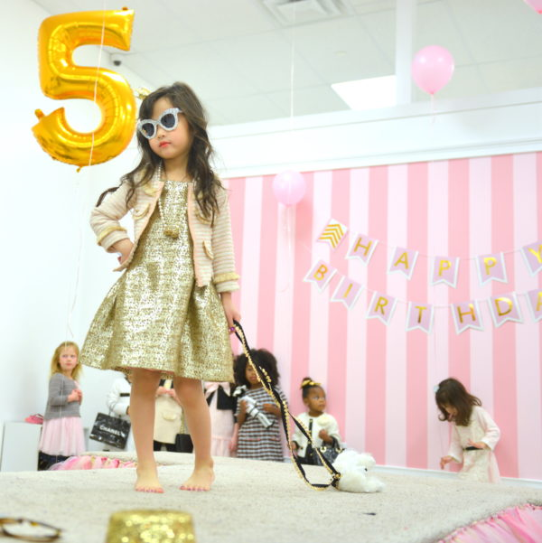 glitter and glam nj, glitter and glam party, glitter and glam kids spa, kids runway show