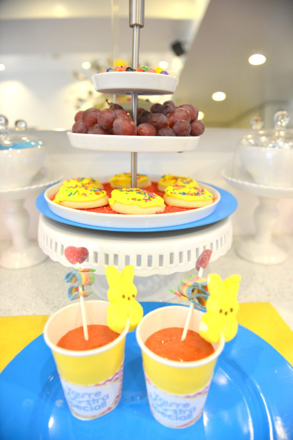 easter party ideas, easter decor, easter desserts, easter party inspiration, peeps ideas