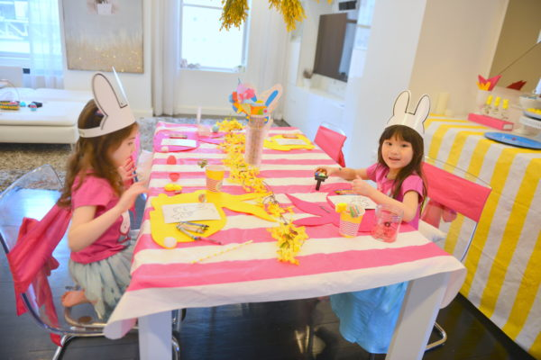 how to plan a kids easter party, easter party inspiration, easter party ideas
