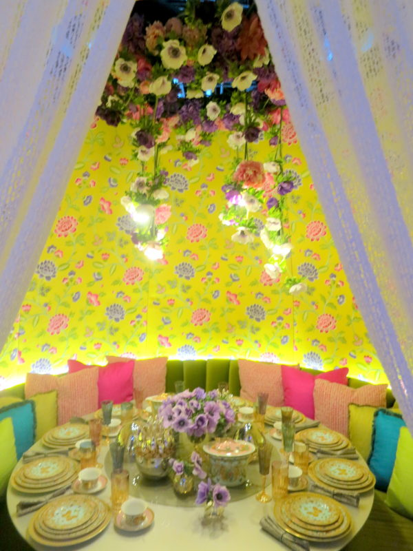 diffa, dining by design, architectural digest show 2018, tablescapes, dining room, dining area, dining room decor, interior decor