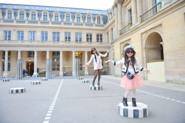 palace royale, paris palace, instagramable paris, mommy and me, mommy and me outfits, paris with kids, palais de royal