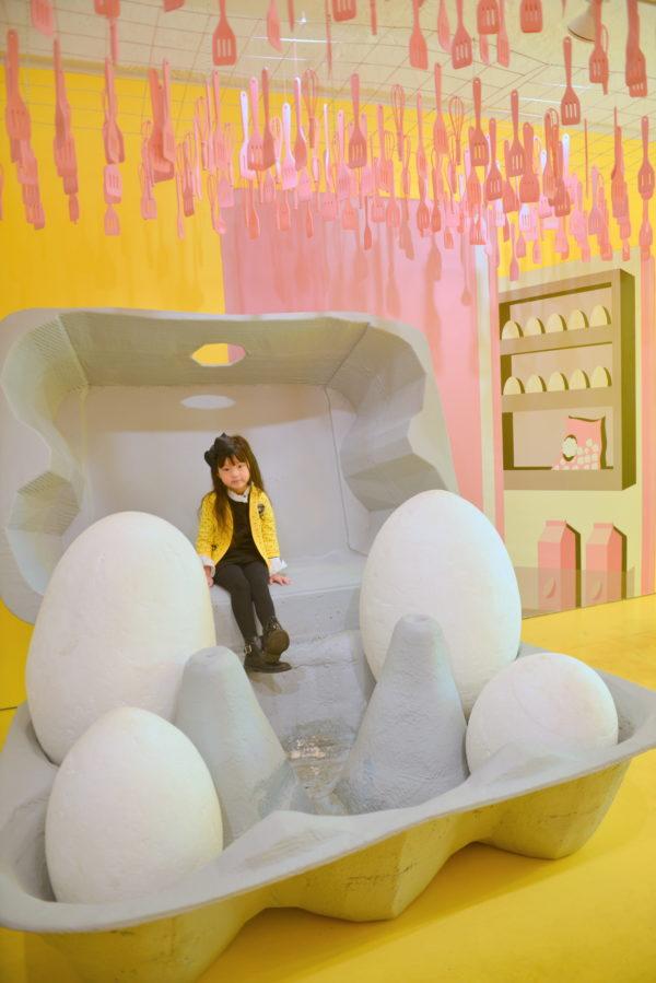 egg art, nyc pop up, nyc art, eggs, the egg house