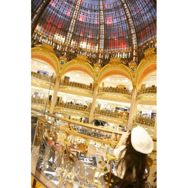 paris shopping, paris shopping mall, galleries lafayete, paris fashion, paris mall