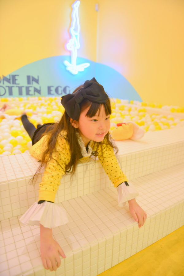 the egg house, ball pit, yellow popup, nyc popup, popups
