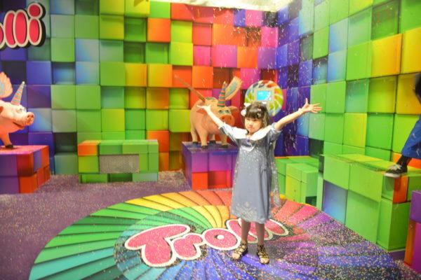 candy popup, unicorn, rainbow