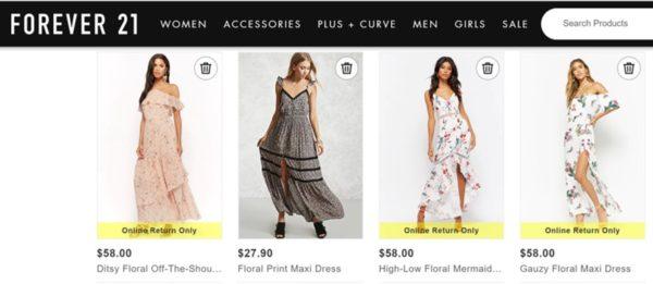 maxi dresses, floral maxi dresses, affordable floral dress