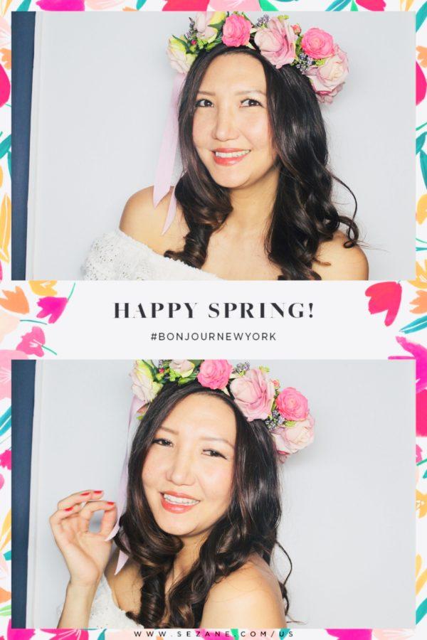 flower crown, flowers nyc, flower sezane store