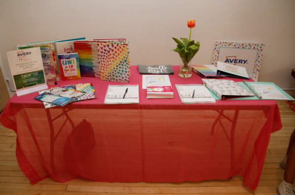 avery supplies, back to school, avery partnership, avery collaboration