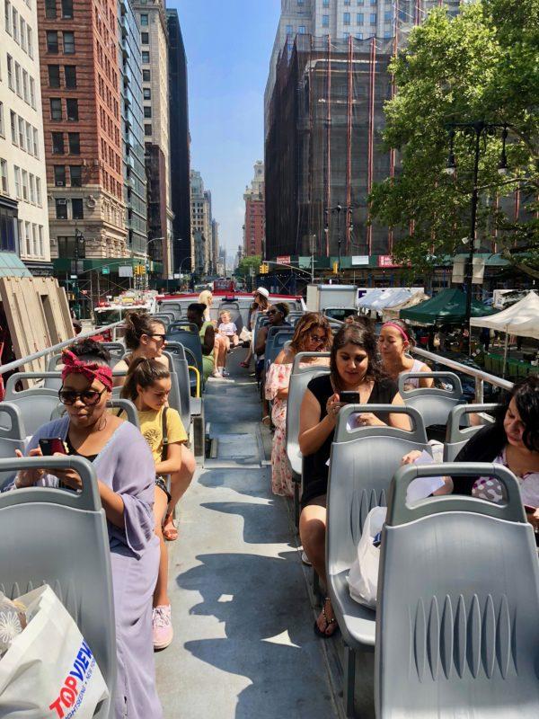 topview tour, topview review, nyc bus tour, new york city bus tour, where to go nyc
