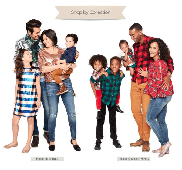 jcpenney, holiday style, affordable family outfits, matching family outfits