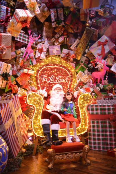 falaland popup, christmas popup, pictures with santa, where to take pictures with santa in la, la santa