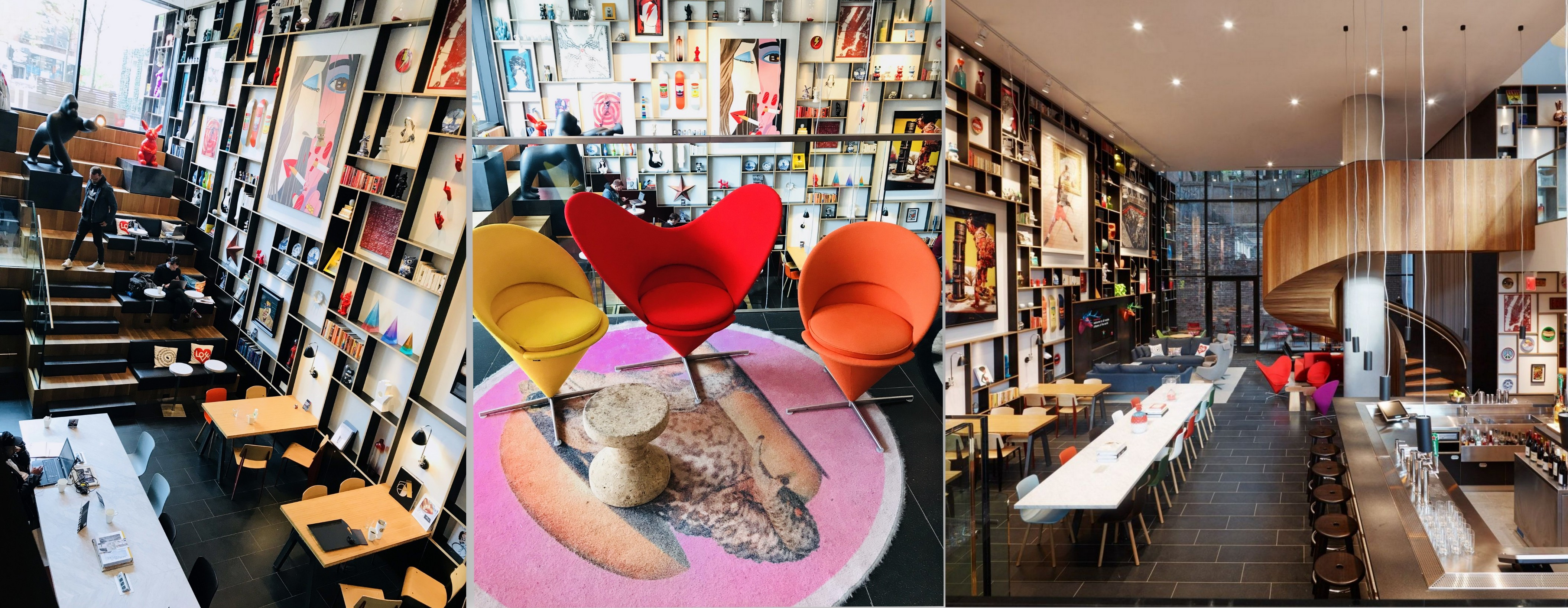 citizen m, instagramable nyc cafes, instaworthy nyc cafes, instaworthy nyc