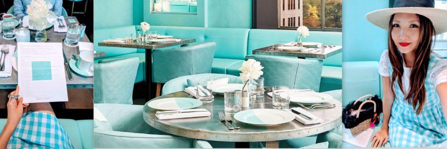 tiffanys cafe, blue box cafe, 5th avenue nyc, tiffany blue, tiffany's store