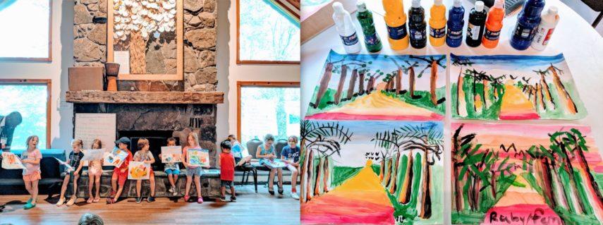 arts camp in bethel ny, woodstock, kids art camp, woodstock art
