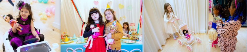 barbie birthday, american girl doll party, doll themed party, doll party